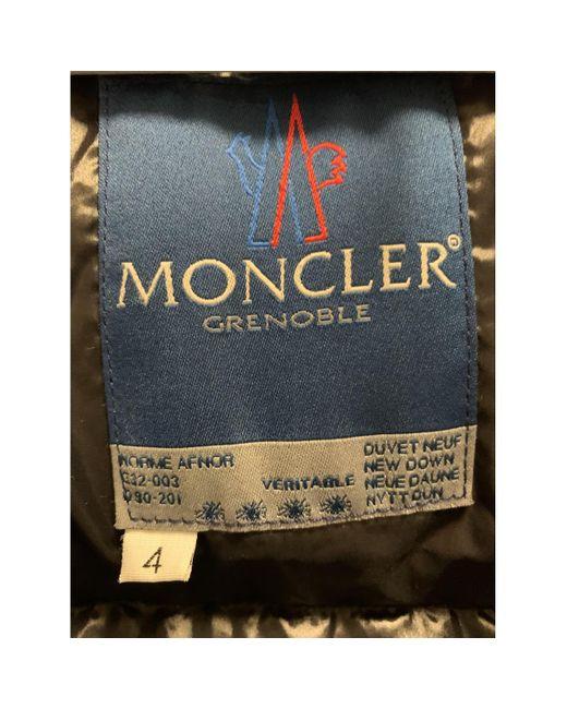 Piumino Classic di Moncler in Black da Uomo
