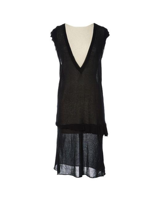 Zadig & Voltaire - Black Pre-owned Mini Dress - Lyst