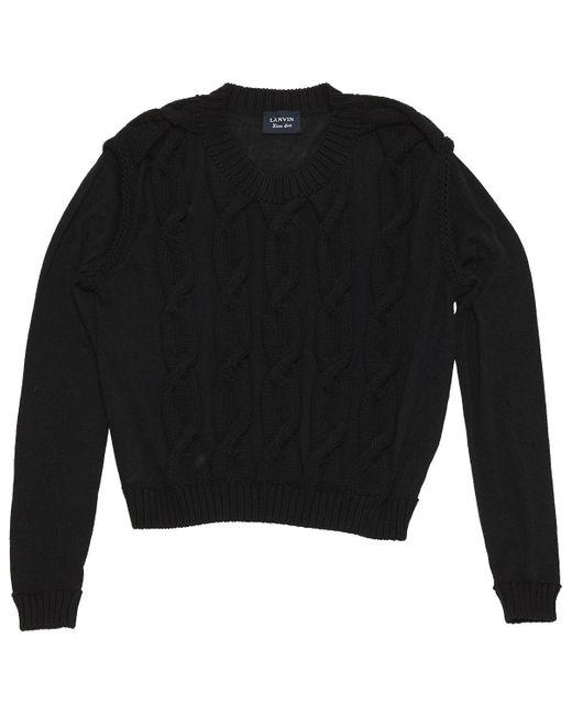 Lanvin Black Synthetic