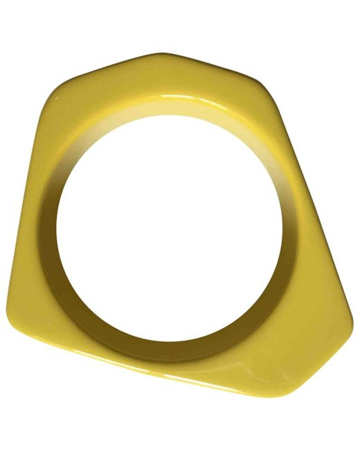 Marni Multicolor Yellow Plastic Bracelets