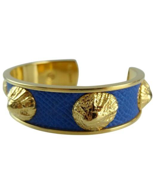 Hermès - Pre-owned Vintage Blue Metal Bracelets - Lyst