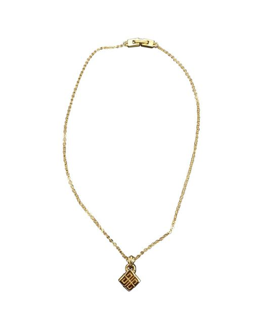 Givenchy - Metallic Pre-owned Vintage Gold Metal Necklace - Lyst