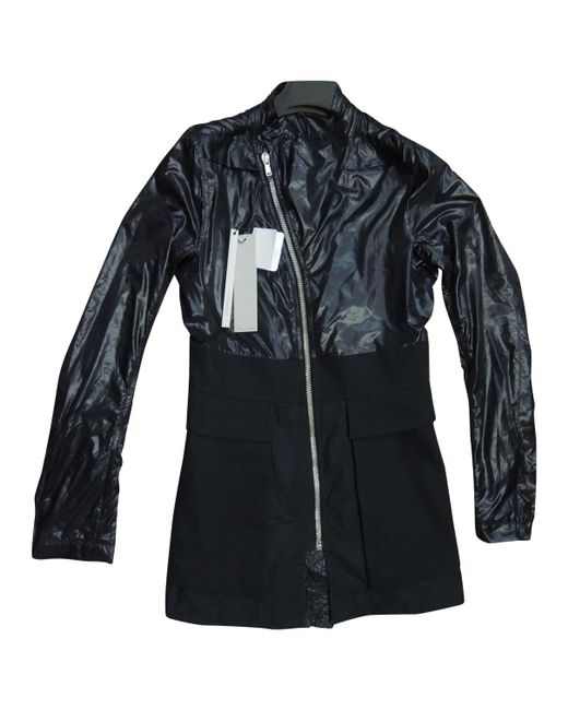 Rick Owens - Black Polyester Jacket for Men - Lyst