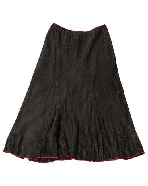 Zadig & Voltaire Black Polyester Skirt