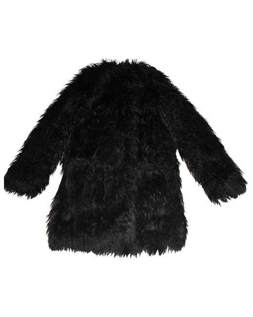 Zadig & Voltaire Abrigo de Pelo sintético de mujer de color negro