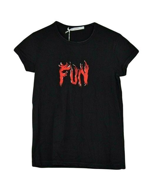 Givenchy Camiseta de mujer de color negro arslj