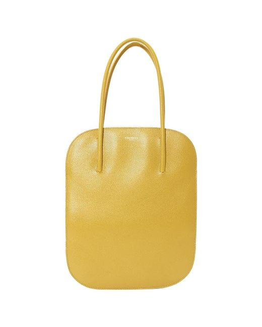e42bdd0451 Lyst - Nina Ricci Pre-owned Yellow Leather Handbags in Yellow