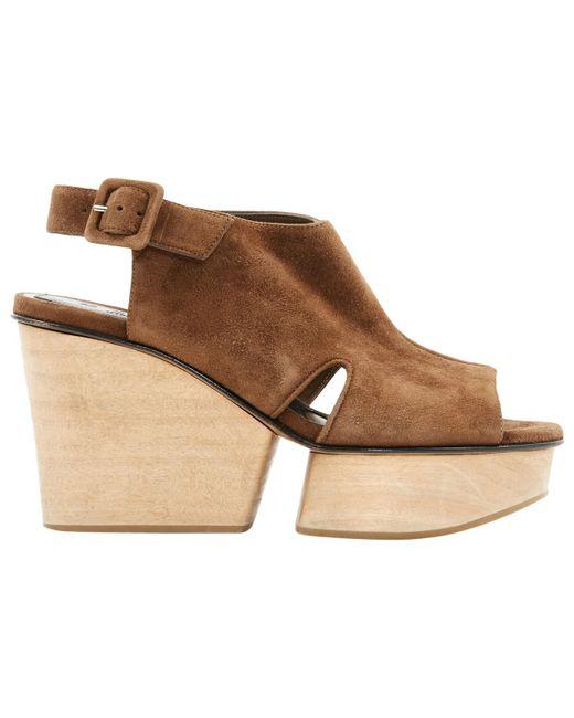 Marni - Natural Heels - Lyst