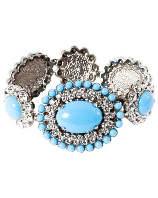 Miu Miu   Pre-owned Blue Plastic Bracelet   Lyst