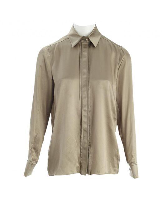 Givenchy - Natural Silk Shirt - Lyst