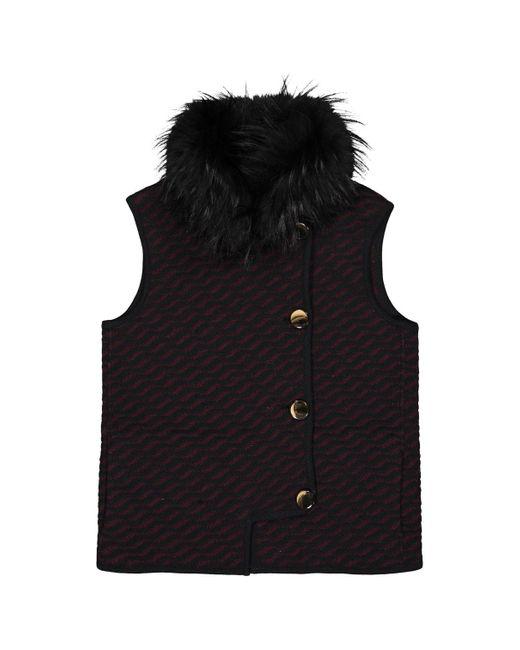 Missoni Multicolor Black Wool