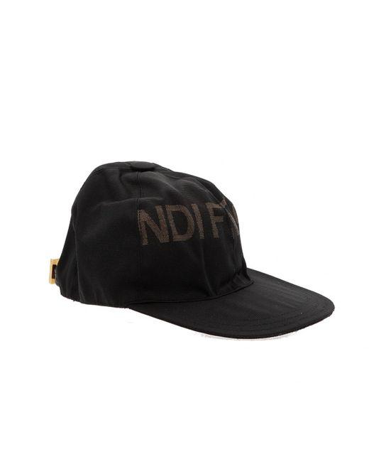 Chapeaux & Bonnets en Toile Noir Fendi pour homme en coloris Black