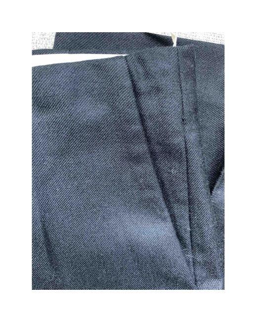 Marni Pantalons en Laine Noir femme