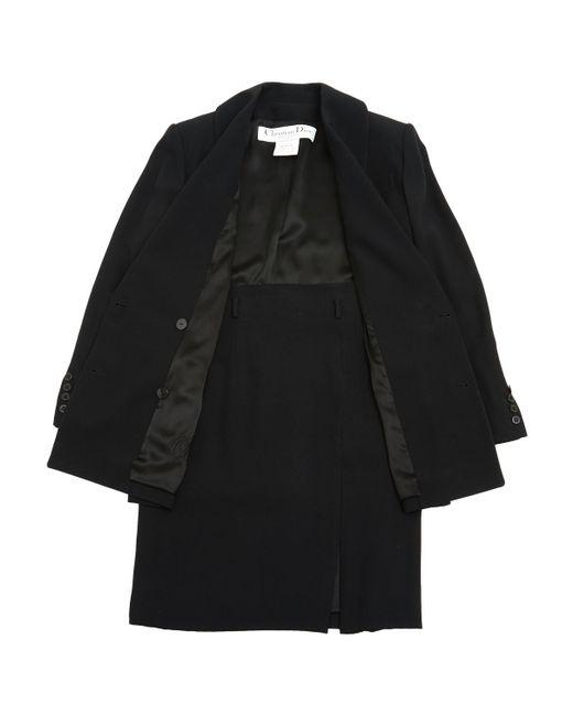 Dior - Black Suit Jacket - Lyst