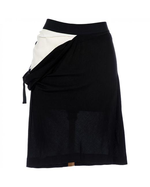 Ann Demeulemeester - Black Pre-owned Mid-length Skirt - Lyst