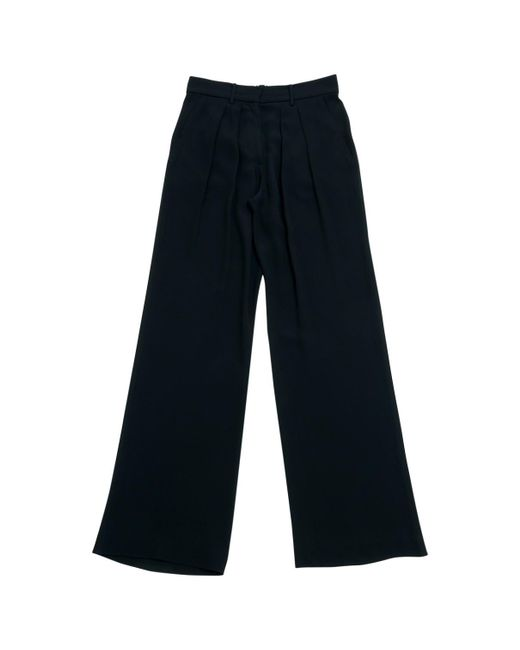 Isabel Marant - Black Pre-owned Silk Large Pants - Lyst