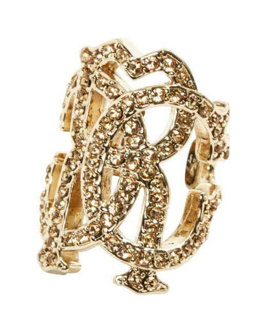Roberto Cavalli - Metallic Ring - Lyst