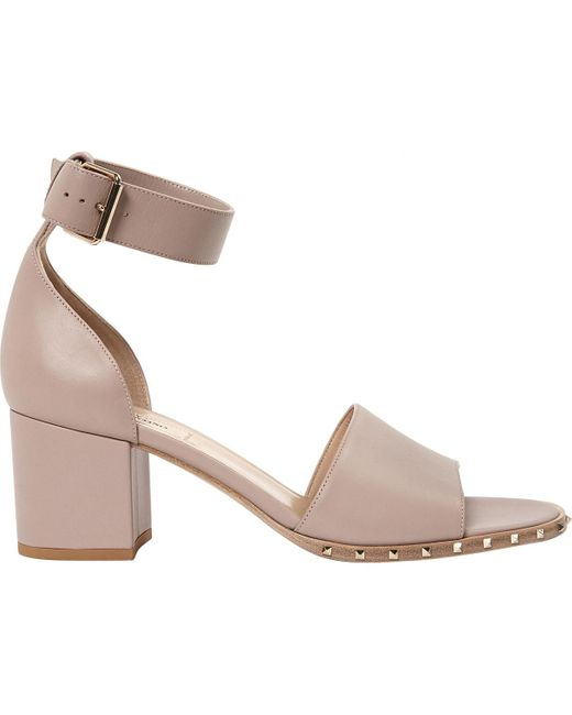 Valentino Pink Leather Heels