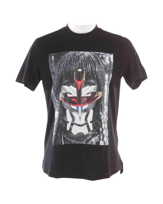 Givenchy - Pre-owned Black Cotton T-shirt for Men - Lyst
