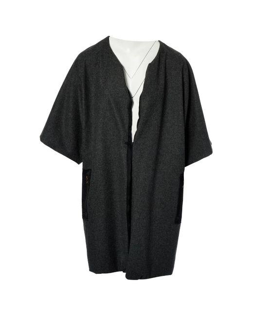 Lanvin Gray Grey Wool