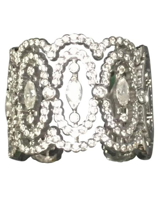 Messika - Metallic Pre-owned White Gold Ring - Lyst