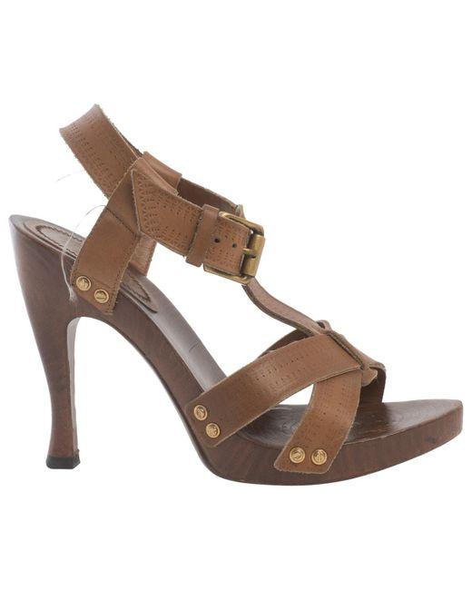 Bottega Veneta Brown Leather