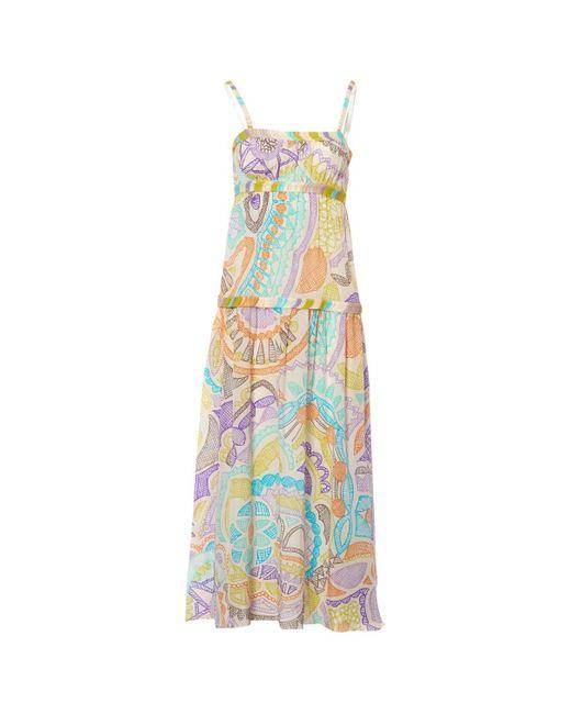Missoni Multicolor Multicolour Silk Dress