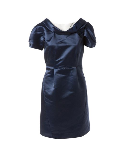 Thakoon Blue Polyester Dress
