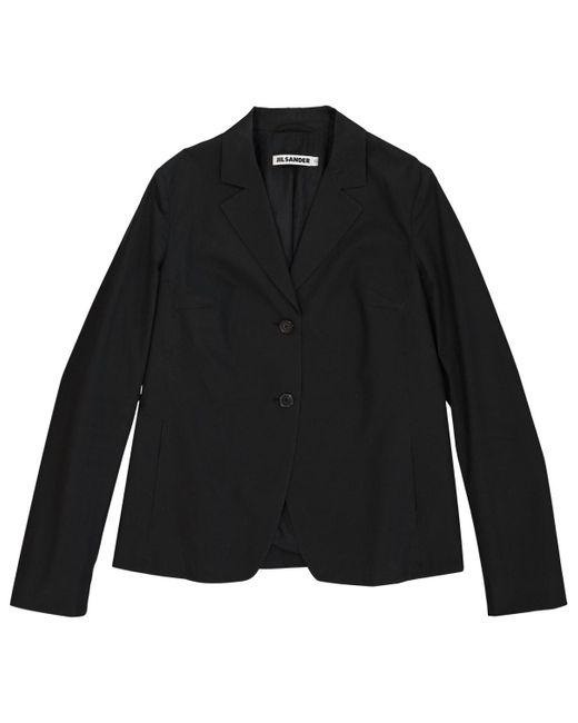 Jil Sander Black Cotton Jacket