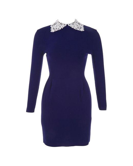 Valentino Blue Viscose Dress