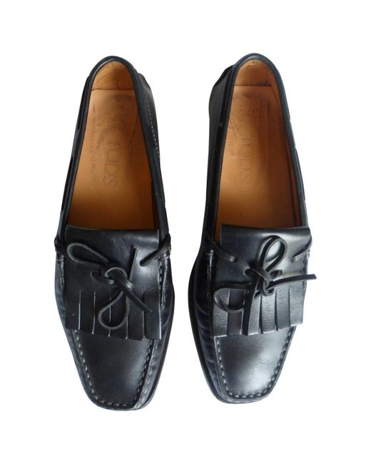 Tod's Black Leather