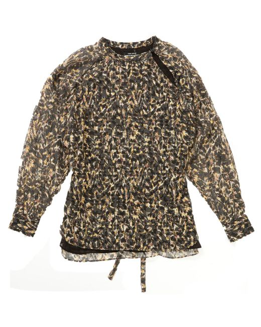 Isabel Marant - Pre-owned Yellow Viscose Top - Lyst