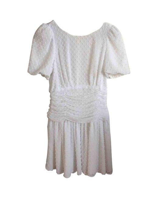 Claudie Pierlot White Polyester Dress