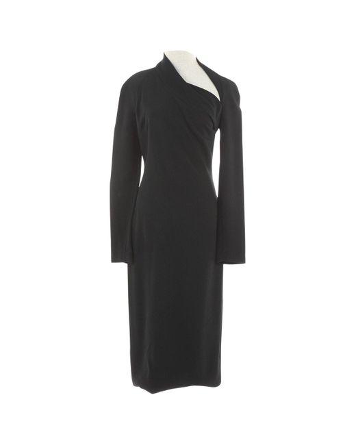 Robes en Viscose Noir Cushnie et Ochs en coloris Black