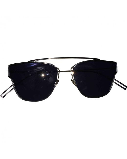 Dior - Black Pre-owned Sunglasses for Men - Lyst
