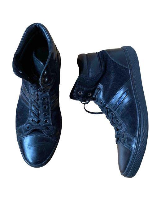 Tod's Botas de hombre de color negro
