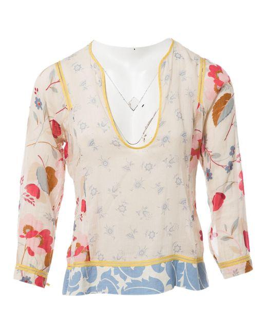 Marni Multicolor Multicolour Cotton Top