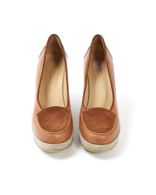 Pre-owned - Leather flats A.P.C. GTatO51dG
