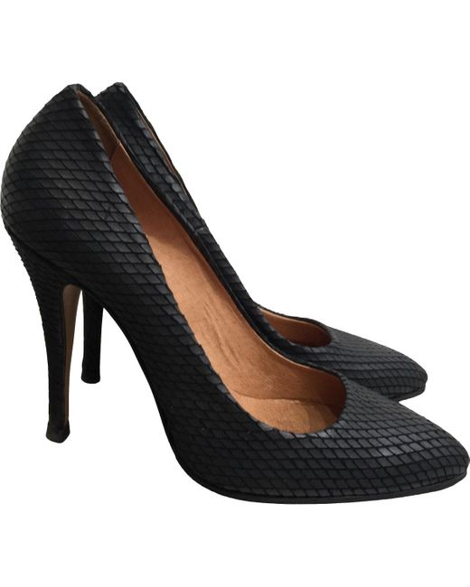 IRO Black Leather