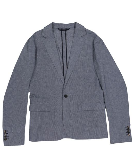 Marni - Pre-owned Blue Cotton Jackets for Men - Lyst