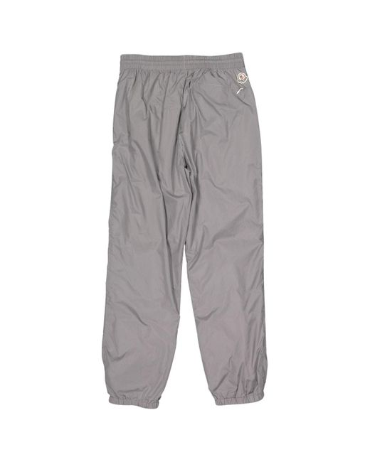 Moncler Gray Grey Synthetic Trousers for men