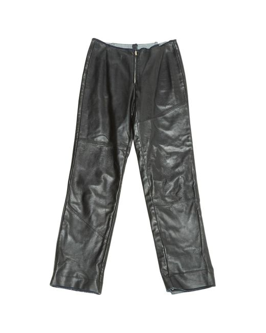 Maison Margiela Black Leather