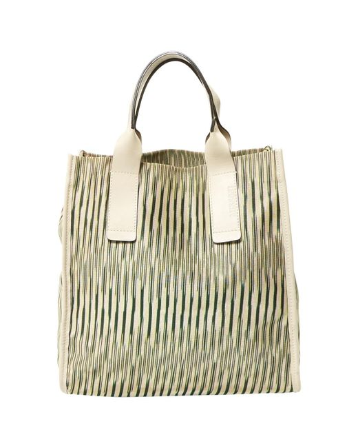 Missoni - Natural Pre-owned Cloth Tote - Lyst