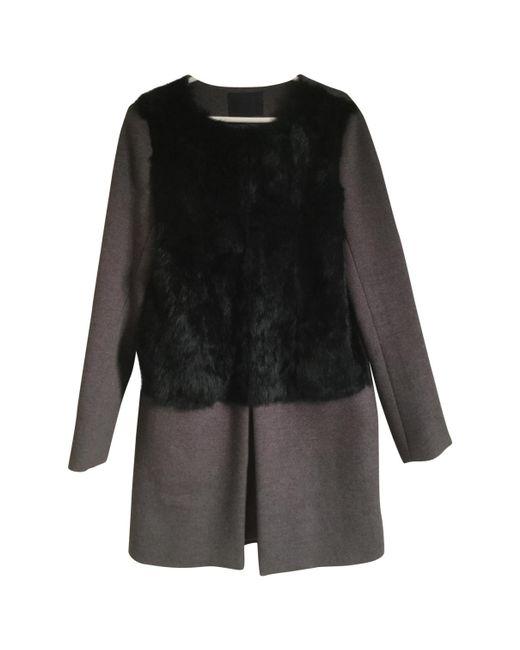 Alexander Wang - Gray Pre-owned Wool Coat - Lyst