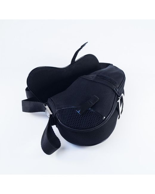Dior Black Saddle Handbag