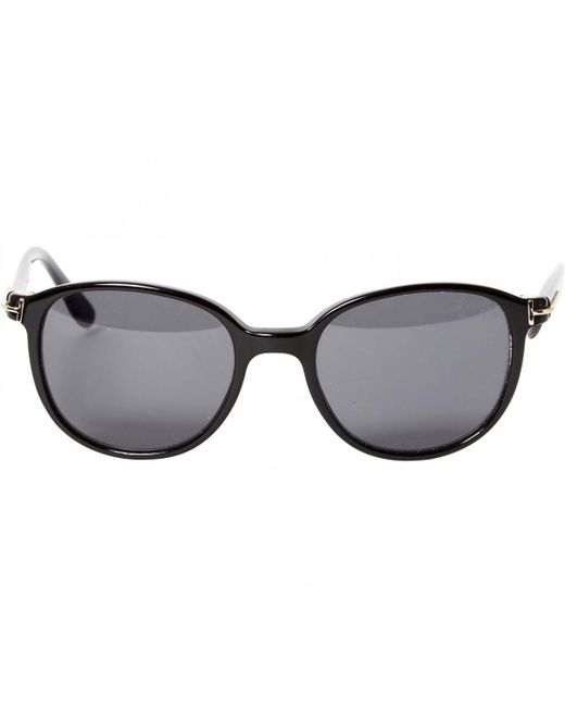 2a47f89779f2 Lyst - Tom Ford Pre-owned Black Plastic Sunglasses in Black