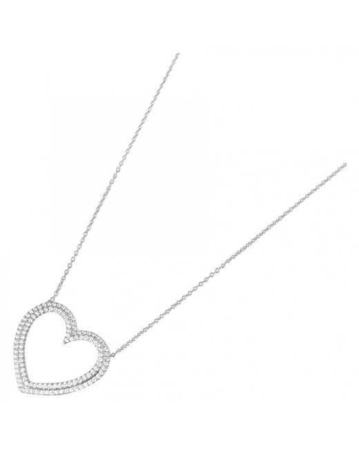 Tiffany & Co - White Platinum Necklace - Lyst