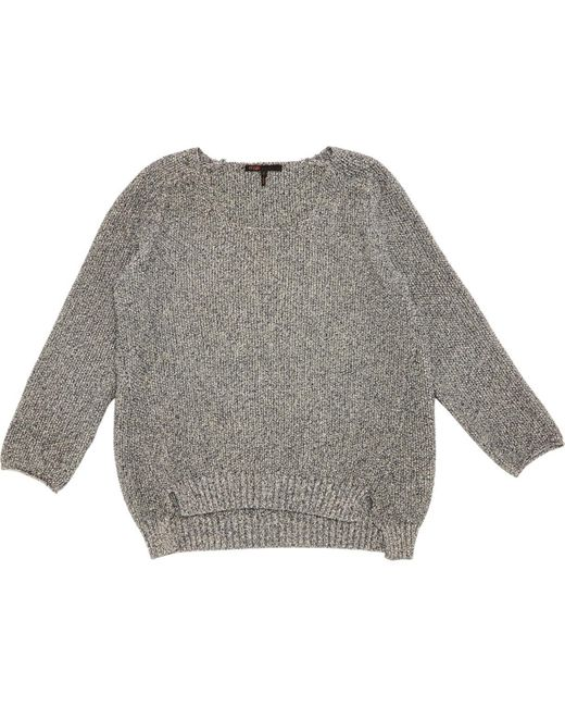 Maje Gray Grey Cotton