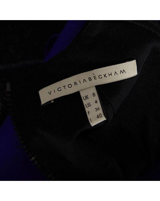 Victoria Beckham Multicolor Wolle maxi kleid