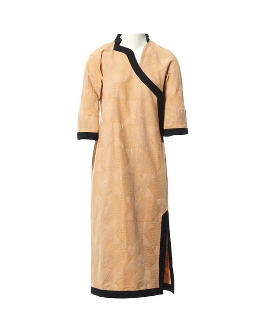 Robe mi-longue Loewe en coloris Natural